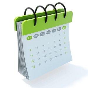 Календар активности